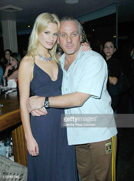 Vicky Andren and Mark Baker during Hamptons Magazine Presents the Launch of Jim Belushi's Book Real Men Don't Apologize at Bed in New York City New...