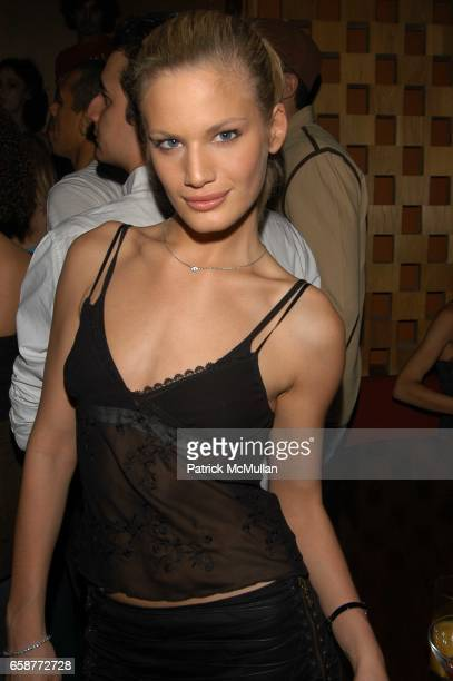 Vicky Andren attends British Invasion 2 Party at Lotus on February 12 2004 in New York City
