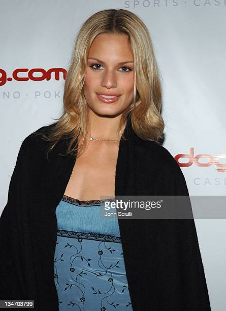 Vicky Andren during 2005 Cannes Film Festival Lotus/Bodog Party at El Biole in Cannes France