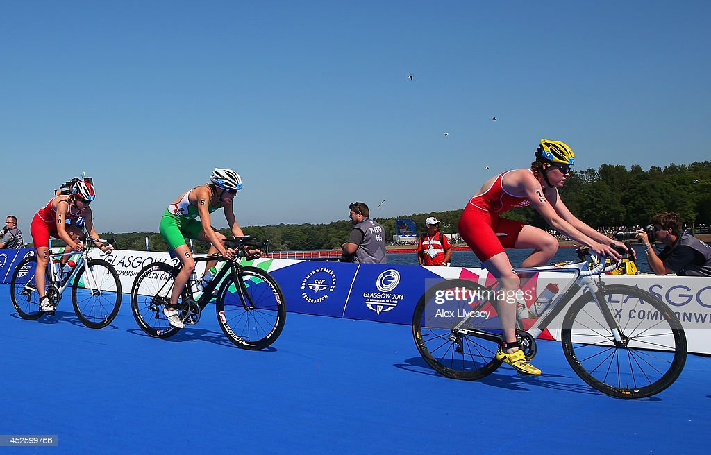 20th Commonwealth Games - Day 1: Triathlon : News Photo