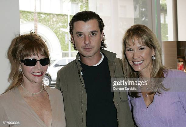 Vicky Iovine Gavin Rossdale and Cheryl Saban during Kelly and Martin Katz Join Irena and Mike Medavoy to Celebrate the Launch of Cheryl Saban's...