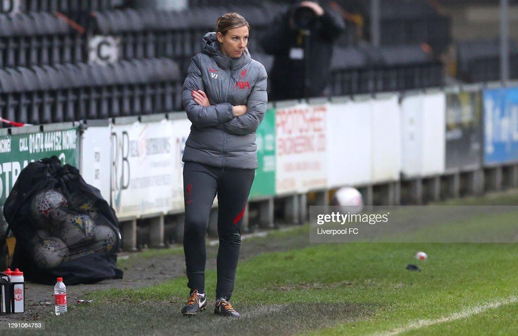 London City Lionesses v Liverpool - Barclays FA Women's Championship : Nachrichtenfoto