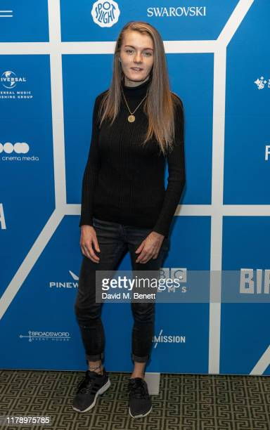 Vicky Knight attends the BIFA nominations announcement at Regent Street Cinema on October 30 2019 in London England