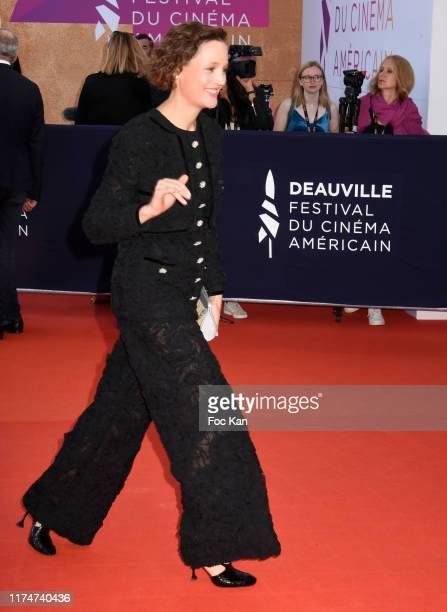 Vicky Krieps attend the Award Ceremony during the 45th Deauville American Film Festival on September 14 2019 in Deauville France