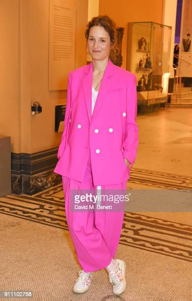 Vicky Krieps attends an exclusive screening of 'Phantom Thread' hosted by Universal Pictures in partnership with PORTER at The VA on January 27 2018...