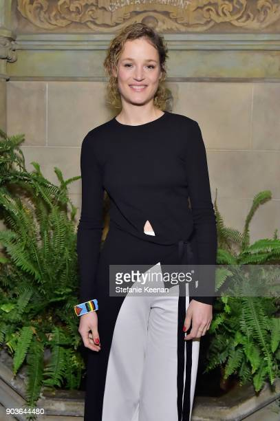 Vicky Krieps attends Vanity Fair And Focus Features Celebrate The Film 'Phantom Thread' with Paul Thomas Anderson at the Chateau Marmont on January...