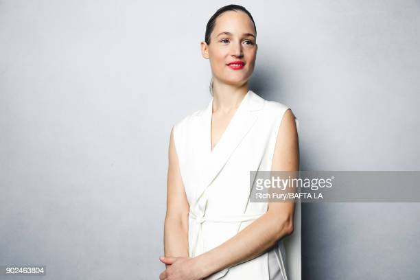 Vicky Krieps poses for a portrait at the BAFTA Los Angeles Tea Party on January 6 2018 in Beverly Hills California