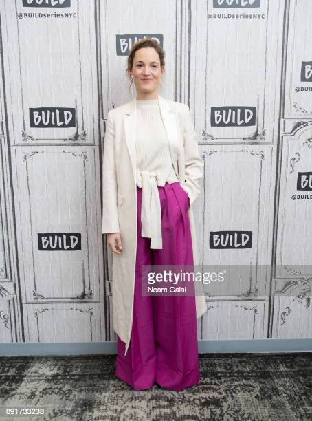 Vicky Krieps visits Build Series to discuss 'Phantom Thread' at Build Studio on December 13 2017 in New York City