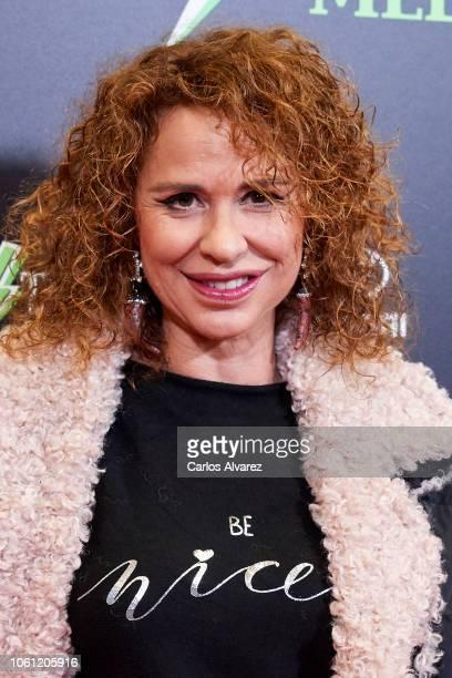 Vicky Larraz attends 'El Jovencito Frankenstein' premiere at La Luz Philips Teather on November 13 2018 in Madrid Spain