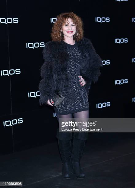 Vicky Larraz attends IQOS Presentation With Jamiroquai on February 13 2019 in Madrid Spain