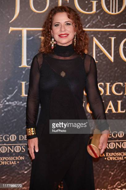Vicky Larraz attends the 'Game Of Thrones the exhibition' photocall at Ifema in Madrid Spain on Oct 24 2019