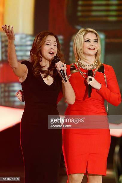 Vicky Leandros and Beatrice Egli perform during the  Willkommen bei Carmen  Nebel  show at.   cd0744cea3