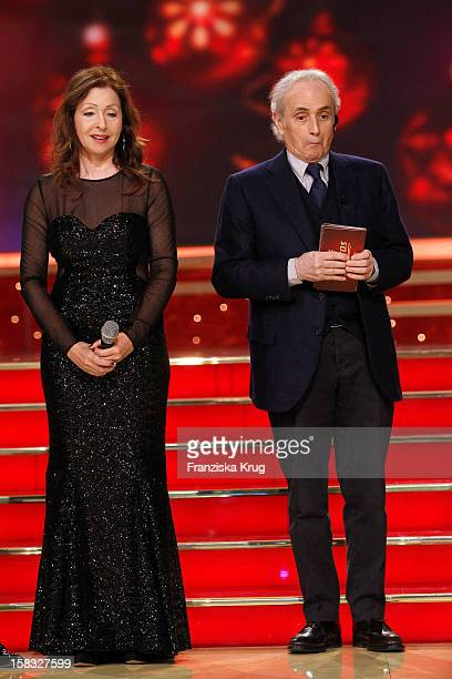 Vicky Leandros and Jose Carreras perform during the 18th Annual Jose  Carreras Gala Rehearsals on December fc242e6e4e