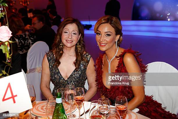 Vicky Leandros and Verona Pooth attend the Rosenball 2014 on May 31 2014 in Berlin Germany