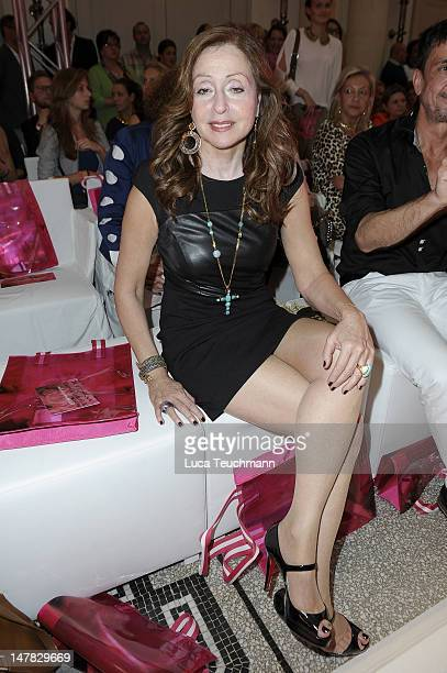 Vicky Leandros attends Basler Show during the MercedesBenz Fashion Week Spring/Summer 2013 at Hotel de Rome on July 4 2012 in Berlin Germany