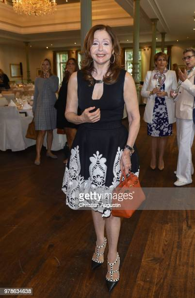 Vicky Leandros attends the 1st Ladies Lunch in cooperation with Eagles Charity Golf Club at the Hotel Suellberg on June 19 2018 in Hamburg Germany
