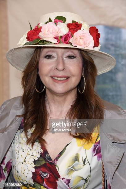 Vicky Leandros attends the Audi Ascot Race Day at Neue Bult horse racing track on August 18 2019 in Langenhagen Germany