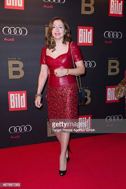 Vicky Leandros attends the BILD 'Place to B' Party at Grill Royal on February 8 2014 in Berlin Germany