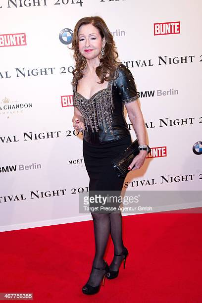 Vicky Leandros attends the Bunte BMW Festival Night 2014 at Humboldt Carree on February 7 2014 in Berlin Germany