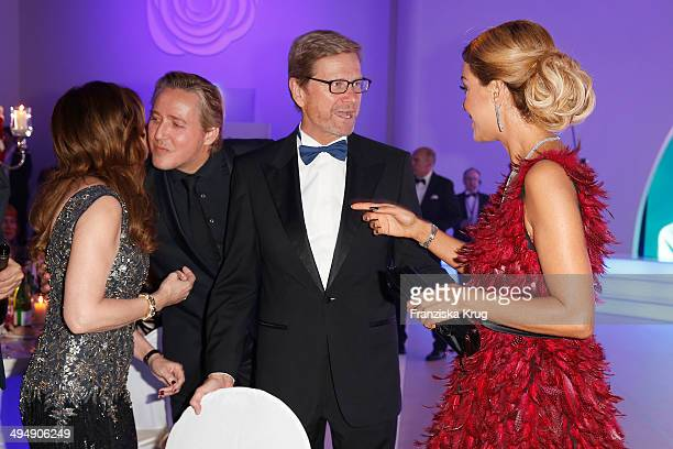 Vicky Leandros Franjo Pooth Guido Westerwelle and Verona Pooth attend the  Rosenball 2014 on May 31 769f7c2b2c