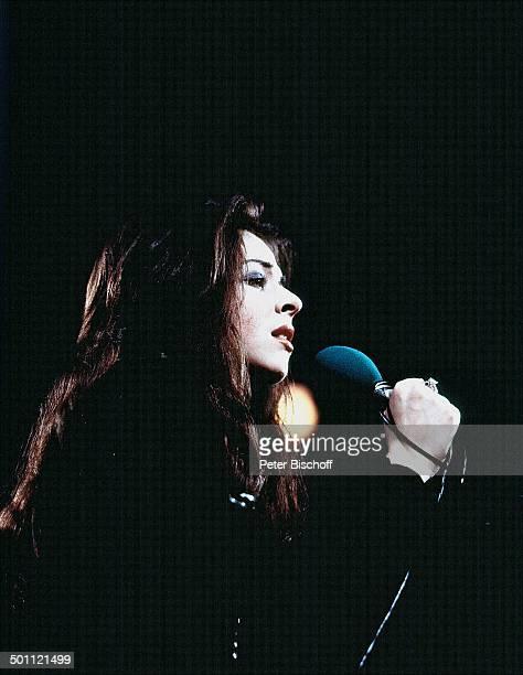 Vicky Leandros TVShow Deutschland Europa Bühne Auftritt Mikro singen Profil Sängerin SchlagerSängerin Schlagersängerin Promi NB/HB SC PNr 1053/2012