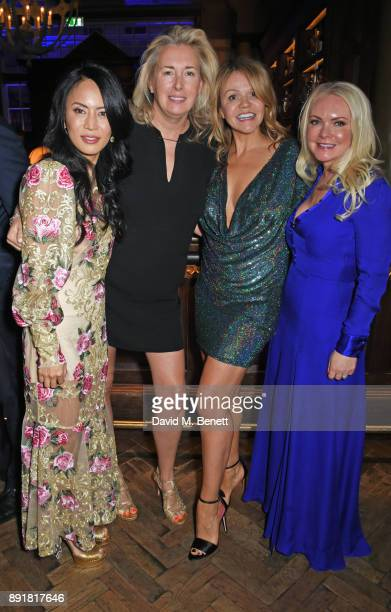 Vicky Lee Tiggy Kennedy Jessica Kilpatrick and Caroline Mellor attend the Rosewood Mini Wishes Gala Dinner in aid of Great Ormond Street Hospital...
