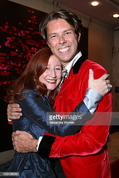 Vicky Lewis and Dennis Henning arrives at The 2007 Ovation Awards held at The Orpheum Theater on November 12 2007 in Los Angeles California