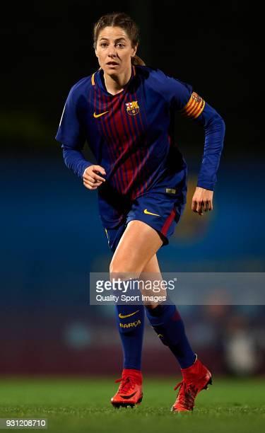 Vicky Losada of Barcelona looks on during the Liga Femenina match between FC Barcelona Women and Atletico de Madrid Women at Ciutat Esportiva Joan...