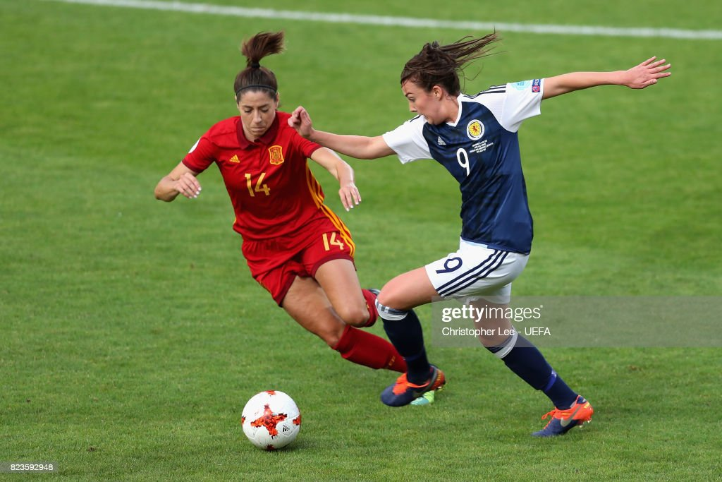 Scotland v Spain - UEFA Women's Euro 2017: Group D : News Photo