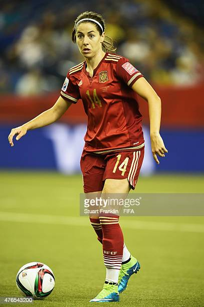 Vicky Losada of Spain in action during the FIFA Women's World Cup 2015 group E match between Spain and Costa Rica at Olympic Stadium on June 9 2015...