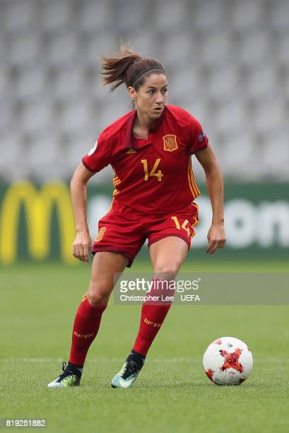 Vicky Losada of Spain in action during the UEFA Women's Euro 2017 Group D match between Spain and Portugal at Stadion De Vijverberg on July 19 2017...