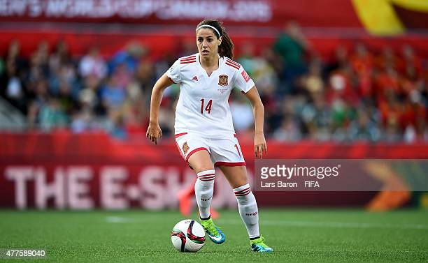 Vicky Losada of Spain runs with the ball during the FIFA Women's World Cup 2015 Group E match between Korea Republic and Spain at Lansdowne Stadium...