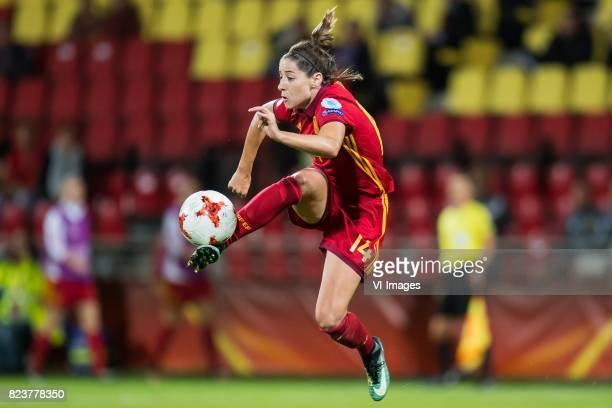 Vicky Losada of Spain women during the UEFA WEURO 2017 Group D group stage match between Scotland and Spain at The Adelaarshorst on July 27 2017 in...