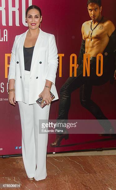 Vicky Martin Berrocal attends 'Afrogitano' premiere at Nuevo Alcala theatre on June 25 2015 in Madrid Spain