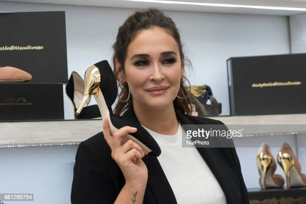 Vicky Martin Berrocal attends her new shoes collection presentation on March 30 2017 in Madrid Spain