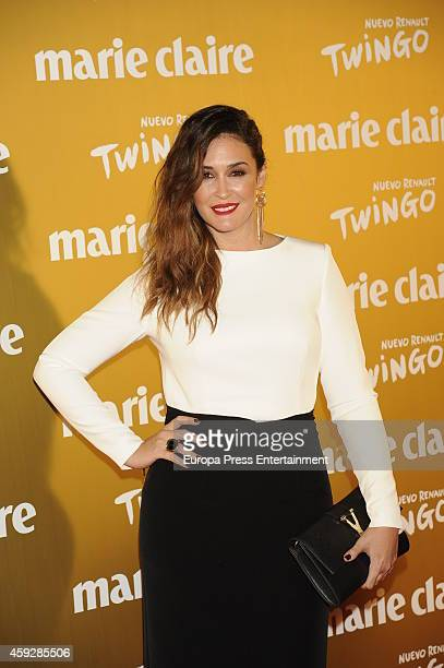 Vicky Martin Berrocal attends 'Marie Claire Prix de la moda' awards 2014 photocall at Residence of France on November 19 2014 in Madrid Spain