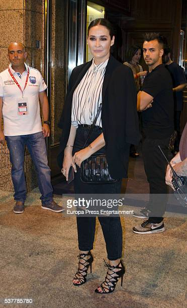 Vicky Martin Berrocal attends Paul McCartney's concert at the Vicente Calderon stadium at Vicente Calderon Stadium on June 2 2016 in Madrid Spain