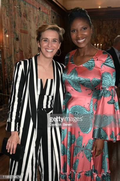 Vicky McClure and Denise Lewis attend the Audi Sentebale Concert at Hampton Court Palace on June 11 2019 in London England
