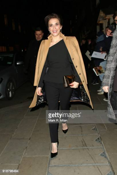 Vicky McClure attending the Dunhill and Dylan Jones PreBAFTA Filmmakers Dinner on February 15 2018 in London England