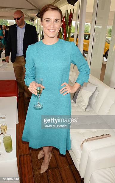 Vicky McClure attends day one of the Audi Polo Challenge at Coworth Park on May 28 2016 in London England