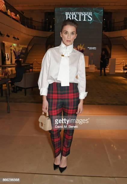 Vicky McClure attends the Burberry BAFTA Breakthrough Brits 2017 at Burberry on October 25 2017 in London England