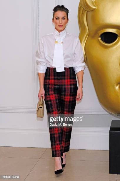 Vicky McClure attends the Burberry BAFTA Breakthrough Brits 2017 at the global Burberry flagship 121 Regent Street on October 25 2017 in London...