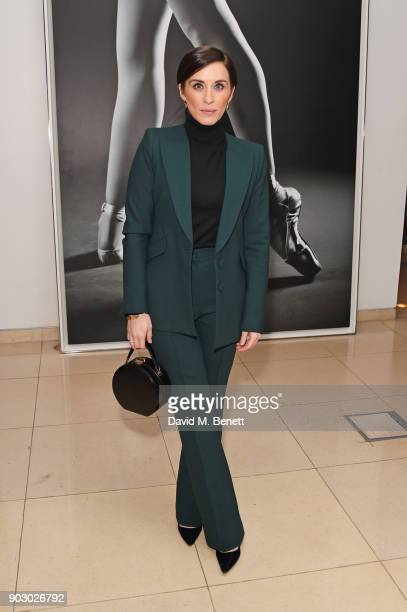 Vicky McClure attends the opening night drinks reception for the English National Ballet's 'Song Of The Earth / La Sylphide' at St Martins Lane on...