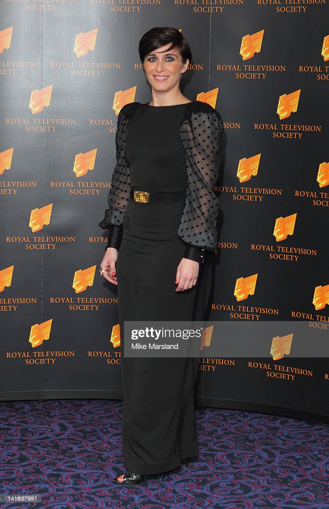Vicky McClure attends the RTS Programme Awards at Grosvenor House, on March 20, 2012 in London, England.