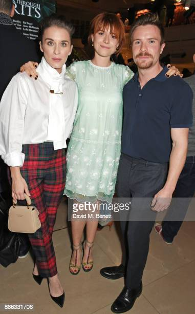 Vicky McClure Breakthrough Brit Jessie Buckley and Joe Dempsie attend the Burberry BAFTA Breakthrough Brits 2017 at the global Burberry flagship on...