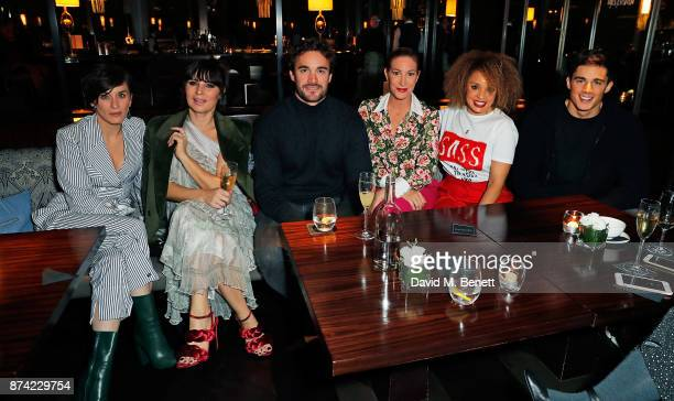 Vicky McClure GRACE WOODWARD Thom Evans Laura Pradelska Pandora Christie and Pietro Boselli attend the unveiling of 'The Tree of Glass' by Lee Broom...