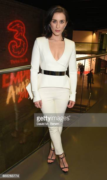 Vicky McClure poses in the winners room at the THREE Empire awards at The Roundhouse on March 19 2017 in London England