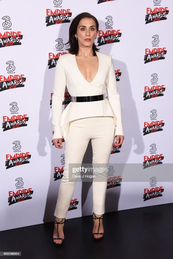 Vicky McClure poses in the winners room at the THREE Empire awards at The Roundhouse on March 19, 2017 in London, England.