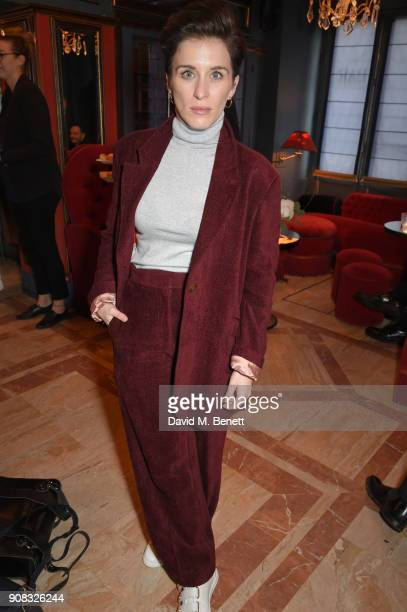 Vicky McClure wearing Paul Smith attends the Paul Smith Malgosia Bela AW18 Lunch on January 21 2018 in Paris France