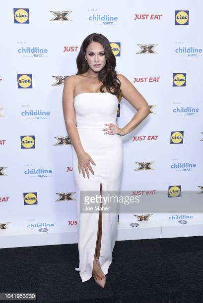 Vicky Pattinson attends The Childline Ball 2018 at Old Billingsgate on September 27 2018 in London England